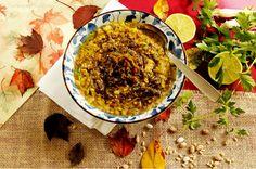 Turmeric & Saffron: Ash-e Haft Daneh - Persian Seven Bean Hearty Soup - Mehregan Festival Recipe