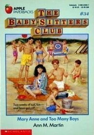 Mary Anne and Too Many Boys Babysitters Club Bk 34, Ann M. Martin ...