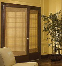Bali Custom Tailored Dupioni Silk and Silk Stripe Roman Shades:Amazon:Home & Kitchen