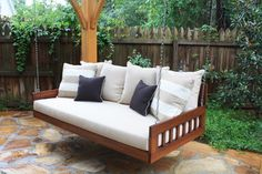 traditional-patio-furniture-and-outdoor-furniture ~ Bed Swing