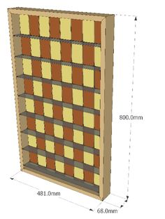 Model of Vertical Chess Board