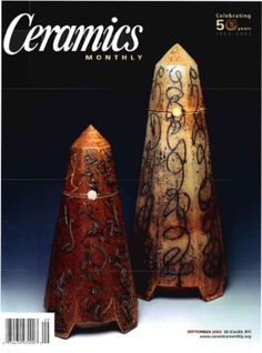 Ceramics Monthly September 2003 Issue Cover, Focus: Mark Shapiro