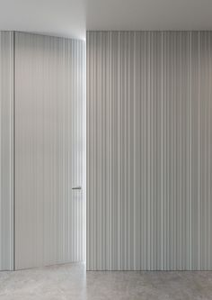 WALL wall cladding with integrated door design Massimo Cavana - Use for Entry storage wall Door Design, Wall Design, House Design, Hidden Doors In Walls, Interior Walls, Interior Design, Wall Cladding Interior, Cladding Design, Door Wall