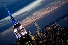 A Gershwin Moment - Rhapsody In Blue - Top of The Rock - Empire State Building - World Trade Center #NYC #Deco @serkes