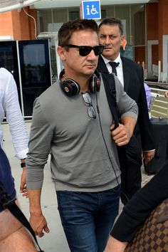 Jeremy Renner arrives at the 73rd Venice Film Festival in Italy on Aug. 30, 2016.