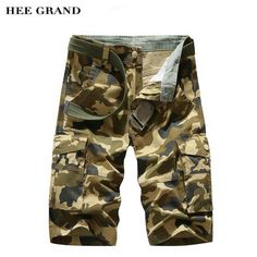 c5b739ea17 HEE GRAND Men Summer Camouflage Shorts 2017 New Whole Cotton Comfortable  Material Multi Pockets Design Shorts Size 29 40 MKD1409-in Shorts from Men's  ...