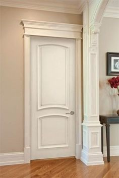 Precious Interior Door Trim Ideas Doors & Continental Smooth Finish Moulded Interior Door | Door molding ... pezcame.com