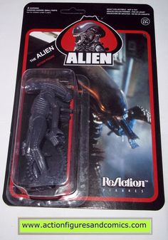 Reaction figures ALIENS the ALIEN monster movie funko toys action moc mip mib horror