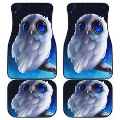Owl Car Mats Car Mats, Car Floor Mats, Cute Eyes, Owl, Great Gifts, Flooring, Prints, Animals, Daily Wear