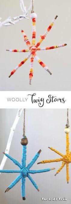 Woolly Twig Stars, a