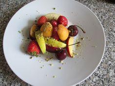 Plat  de   fruits   fraise  Gino D'Aquino