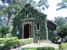 Shrine of Our Lady of La Leche in St. Augustine Florida.