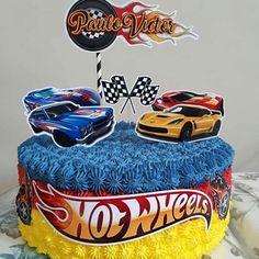 bolo hot wheels com topper Bolo Hot Wheels, Hot Wheels Cake, Festa Hot Wheels, Festa Monster Truck, Monster Trucks, Joshua 5, Hot Wheels Birthday, Oreo Flavors, 3rd Birthday Parties