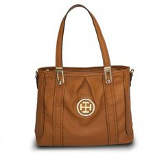 The Camel Fashion Tote is a casual yet stunning polyurethane bag with two  inner zip pockets and two open pockets. d48524268fc01