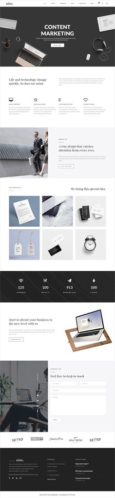 Nito is a versatile responsive HTML #bootstrap template for stunning #corporate website with 21+ multipurpose homepage layouts download now➩  https://themeforest.net/item/nito-a-clean-minimal-multipurpose-html-template/19291489?ref=Datasata