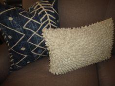 Pillow. color & texture.