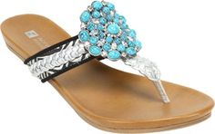 White Mountain Women's Enrich Thong Sandal * Trust me, this is great! Click the image. : Flip flops