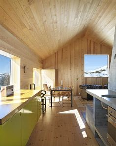 Dear Perfect Little Norwegian Cabin, Can I curl all up inside of you? <3 KMay  (Architect: http://www.lieoyen.no/default.asp)