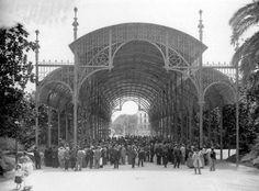 Barberá Masip Mercado de Flores en La Glorieta: 1909