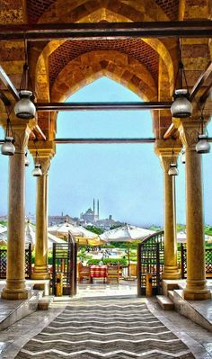 Al-Azhar park, Cairo-Egypt