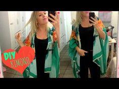 DIY: Dois Modelos de KIMONO! ♥ Jade Torrezan - YouTube