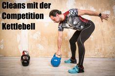 Bei allen ballistischen Übungen spielt die Competition Kettlebell ihre Vorzüge voll aus.