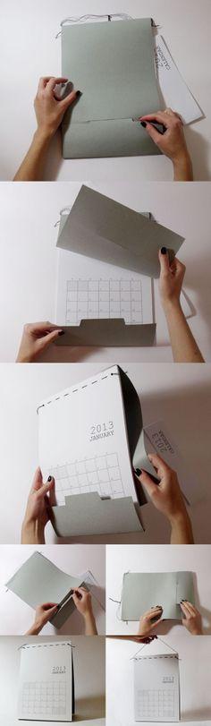 Calendar 2013 by Eri Liougkou