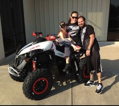 Thanks to Kinsley, Amanda and Jason Brame from Youngstown FL for getting a 2016 Can-Am Renegade Xxc 1000 at Hattiesburg Cycles