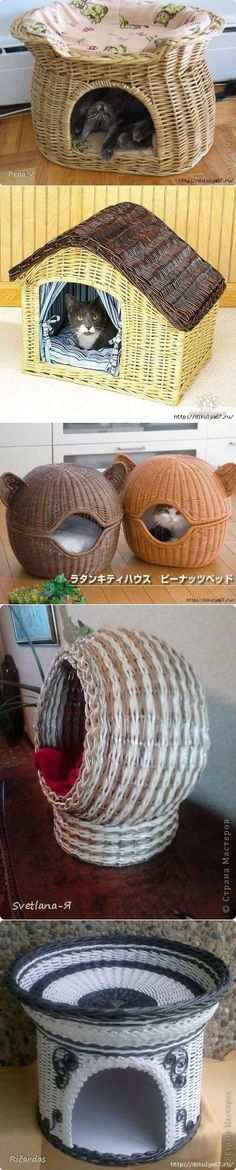 Ideas to use for recycling newspaper rolls Cat Crafts, Diy And Crafts, Arts And Crafts, Newspaper Basket, Newspaper Crafts, Paper Weaving, Weaving Art, Willow Weaving, Basket Weaving