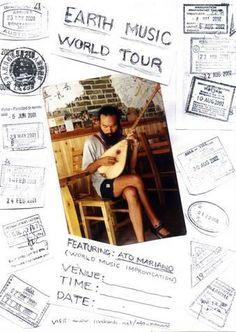 tour poster Tour Posters, Tours, Music, Musica, Musik, Muziek, Music Activities, Songs