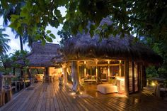 This private island in the Seychelles hosts 11 luxury lodges and treats its visitors to exotic species of flora and fauna.