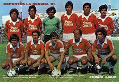 Deportes La Serena: Plantel 1981