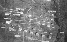 ariel view of coal camp