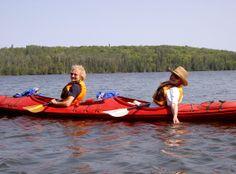 Lutsen Resort on Lake Superior- Kayaking on Lake Superior and inland lakes. A great family adventure!!