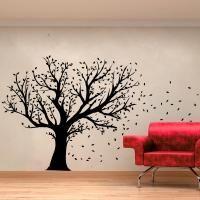Adesivo Decorativo - Adesivo de Parede: Arvore Cheia de Inverno - Deccolar Adesivos Decorativos