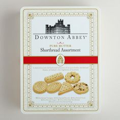 Downton Abbey Luxury Assorted Shortbread Tin | World Market
