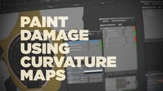 Learn how to use curvature maps from ZBrush or 3D-Coat to create wear and tear damage and color variation with the foundry's Mari or other texturing tools.