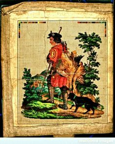 Needlepoint Personnages on Pinterest | 91 Pins