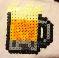 Mug of Beer Perler beads