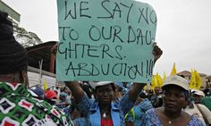 Nigerian president urges safe return of kidnapped girls
