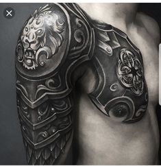 Ra-zone TattooYou can find Armor tattoo and more on our website. Armor Sleeve Tattoo, Armour Tattoo, Body Armor Tattoo, Best Sleeve Tattoos, Body Art Tattoos, Buddha Tattoos, Warrior Tattoos, Badass Tattoos, Great Tattoos