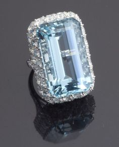 Ruser Aquamarine Diamond jewelry