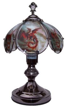 Dragon Lamps for Your Goth Decor - Gifts for Dragon Lovers