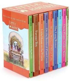 Little House (9-Book Boxed Set)...I read the covers off of these books when I was younger, that's how many times I read them!  But I will admit....I have never read Farmer Boy.  Skipped it every time.