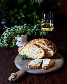 How to Bake Artisan Bread $0.68 per Loaf! - Taste With The Eyes #bread #baking #artisan #boule Wine Recipes, Bread Recipes, Lemon Whipped Cream, Mexican Crema, Dutch Oven Bread, Grilled Halloumi, Bread Ingredients, Cheese Salad, Artisan Bread