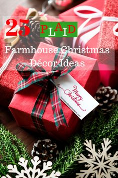 25 Plaid Farmhouse C