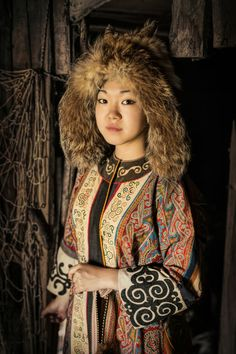 I Travelled 25000 Km In Siberia To Photograph Its Indigenous People, 6 Months Later Here's The Result   Ulchi girl