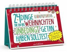 Action-Adventskalender - 24 Dinge, die du bis Weihnachten unbedingt getan haben solltest