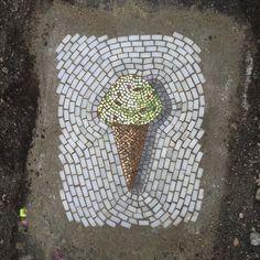 Image result for road graffiti tile