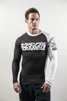 03cfb17e027b2 Scramble BJJ Ranked Rash Guard - All Colours - This would rock with the  spats.